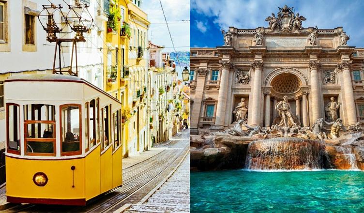 Lisabona si Roma