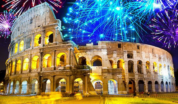 Revelion la Roma