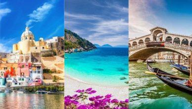 Napoli, Lefkada, Venetia