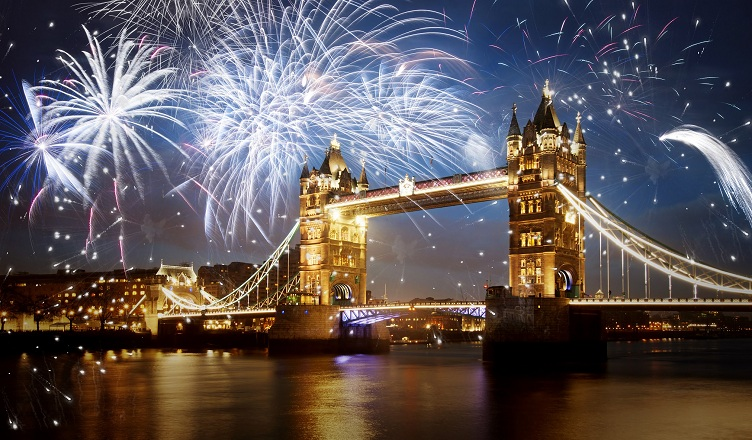 Revelionul la Londra