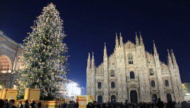 Craciun la Milano