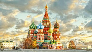 Vacanta la Moscova