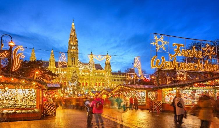 Piata de Craciun din Viena