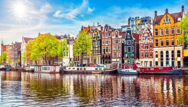 City break in Amsterdam