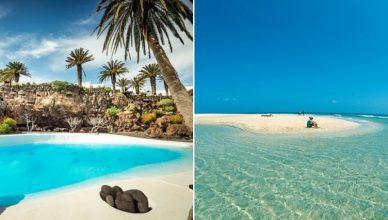 Lanzarote si Fuerteventura