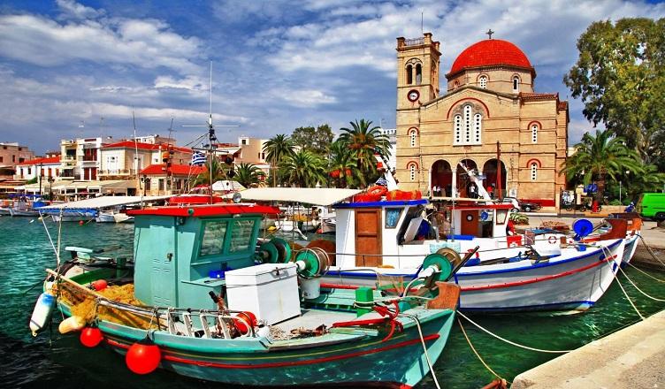 Insula Eghina O Ilustrată A Greciei Adevărate