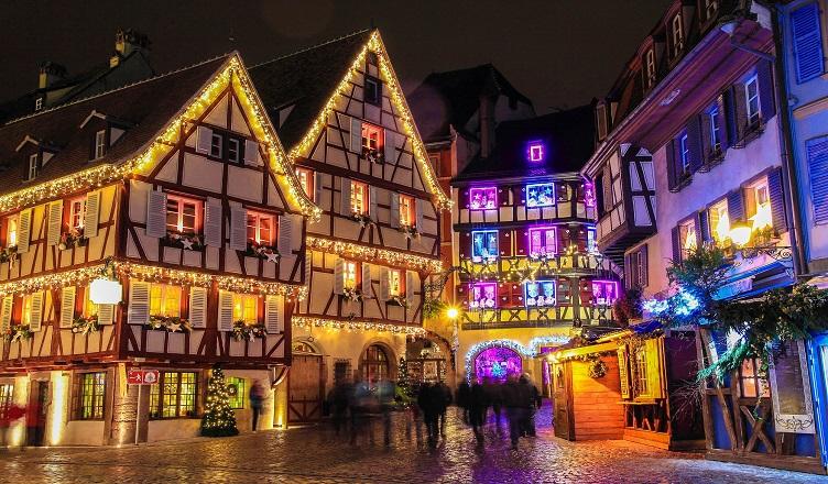 Piata de Craciun din Colmar