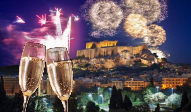 Revelion in Atena