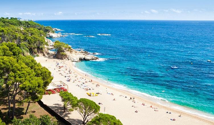 Costa Brava in august