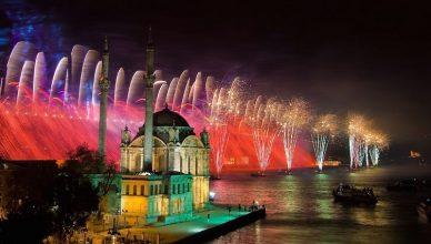 Revelion in Istanbul