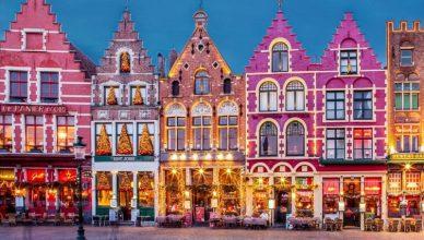 Piata de Craciun din Bruges