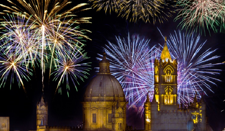 Revelion in Sicilia