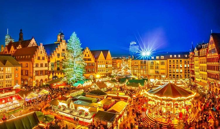 Piata de Craciun din Frankfurt