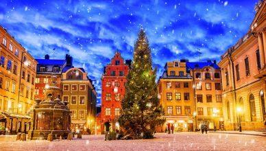 Piata de Craciun din Stockholm